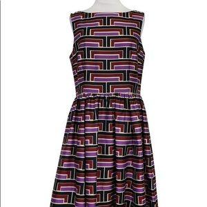 Kate Spade geometric silk dress